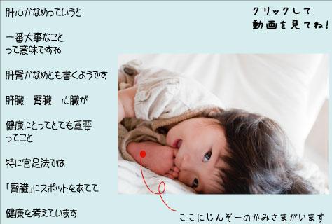 腎臓 動画 官足法
