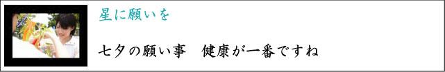 七夕 お中元 プレゼント 願い