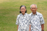 老人の夫妻